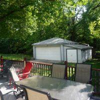 2111 Feldman Ave | Deck and garage