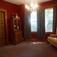 2111 Feldman Ave | Pocket doors between dining and living room - closed
