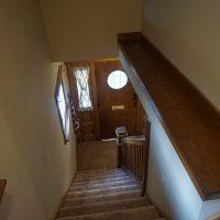 2111 Feldman Ave | Stairway, looking down