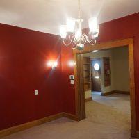 2111 Feldman Ave | Pocket doors between dining and living room - open