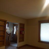 2111 Feldman Ave | Living room with built-in shelving